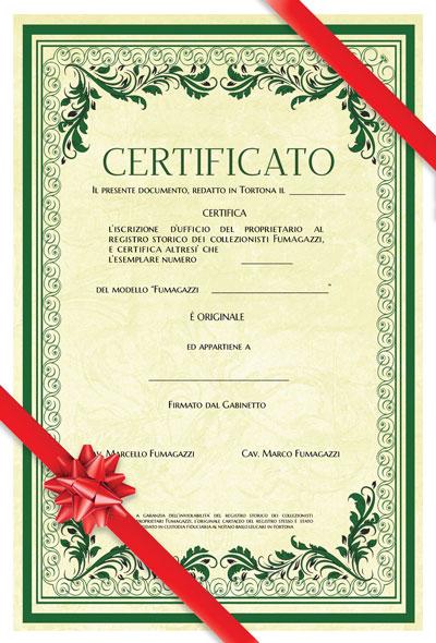 Gift certificato