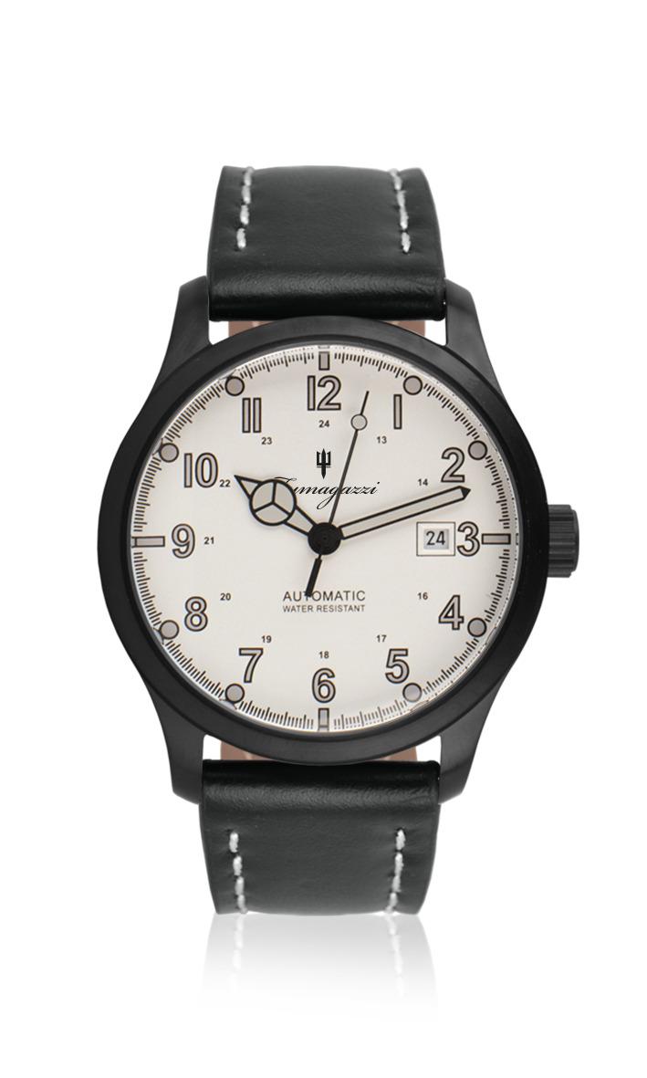 Orologio automatico quadrante bianco